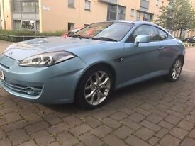 FULLY AUTOMATIC - STUNNING 2007 REG HYUNDAI COUPE / VERY LOW MILG/ MOT JUNE 2018/ MINT COND/ £2399