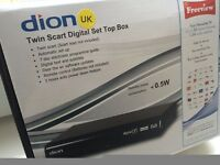TV receiver : FREEVIEW Box, DION Low Energy Digital Set Top Box
