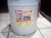 60 litres brick red exterior masonry paint