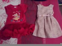 Clothes for girl in perfect condition from newborn to 3 years old + new curtains