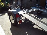ARMITAGE HEAVY DUTY RECOVERY TOWING DOLLY TRAILER CONSIDER SWOP FOR MOTORBIKE