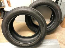 Goodyear Eagle F1 235/50/18 5mm tread