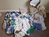 REDUCED!!£30!! BABY BOYS BUNDLE 🍼 99 ITEMS- BARGIN