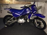 PW80 Clone. Jiashe 80PY kids Dirt Bike 80cc Semi-Auto 2stroke