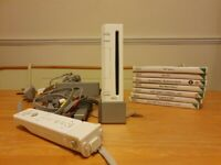 Nintendo Wii, 7 games and Wii motion plus