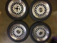 Lenso BSX 4x100 4x108 15 inch bbs style