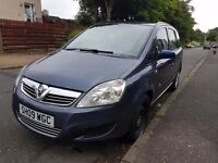 Vauxhall zafira 1.9 cdti 120 bq 7 seater veri goot car from famili car start and draiv 2009