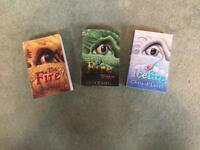 The Fire, Fire Within, Icefire by Chris d'Lacey. Suitable for teenagers.