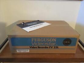 Retro 1988 VHS Ferguson Videostar VCR Video Recorder For Sale