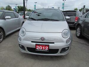 2012 Fiat 500 Sport * LEATHER * POWER ROOF London Ontario image 2