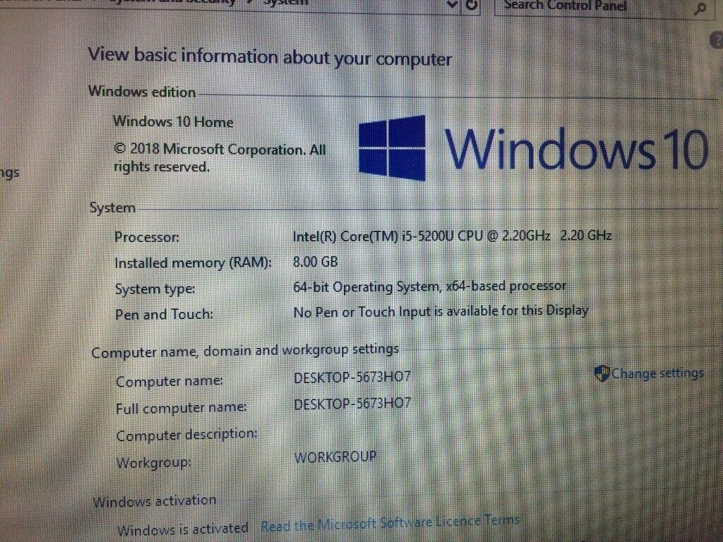 GAMING HP - i5 5200U 5th Gen - 8GB Ram - 1TB - NVIDIA GeForce 820M 2GB  Graphics Laptop Win 10 PC | in Kilburn, London | Gumtree