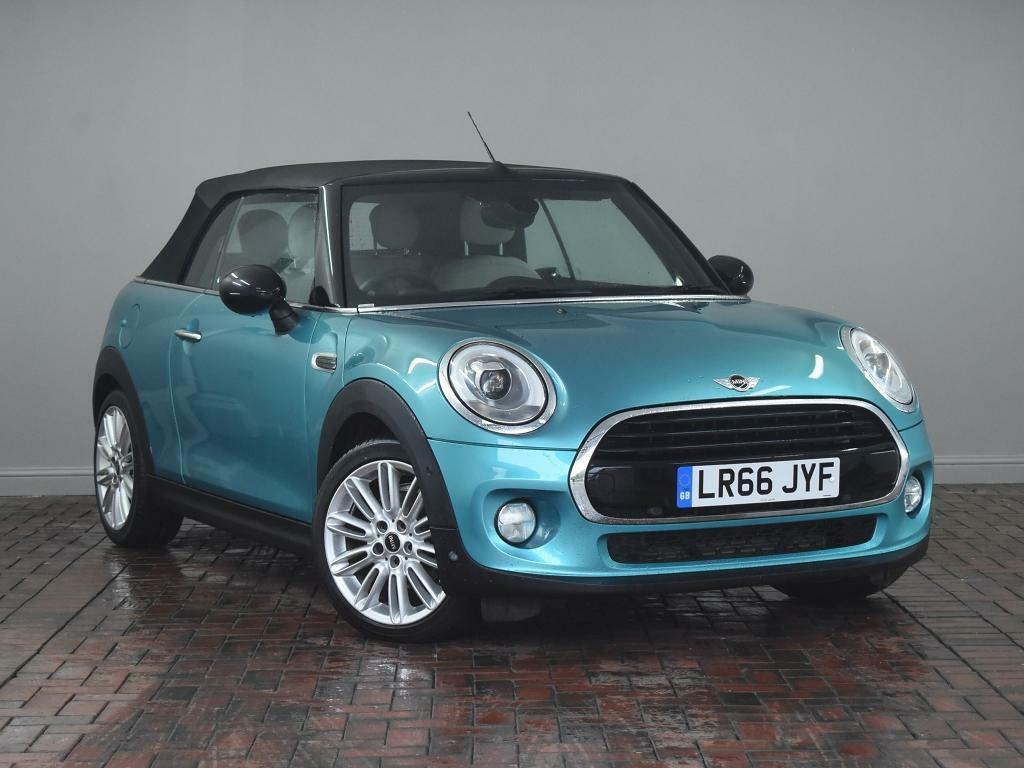 Mini Convertible 1 5 Cooper 2dr Turquoise 2016