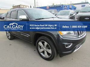 2015 Jeep Grand Cherokee LIMITED/ LEATHER/ GPS