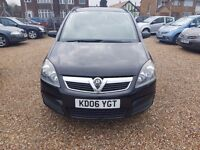 Vauxhall Zafira 1.6 i 16v Club 5dr, LONG MOT. HPI CLEAR. GREAT FOR FAMILIES. GOOD CONDITION