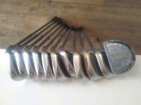 Cobra Oversize Irons II 2 Irons Set 3 to Loft + Mallet Putter 11 clubs CiH £125