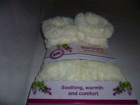 Warmies slippers/boots (microwavable)
