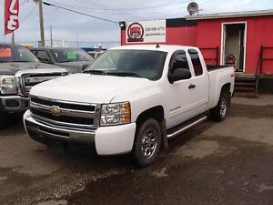 2010 CHEVROLET SILVERADO 1500 LS EXTENDED CAB 4WD Prince George British Columbia image 1