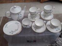 Tea set 'Saddler fine Bone China'