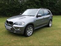 BMW X5 E70 2007 - 3LTR DIESEL, 19 inch MSport alloys, black leather interior, Sat Nav, Msport susp
