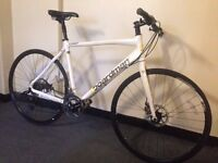 QUALITY BOARDMAN COMP ENTRY LEVEL HYBRID ROAD BIKE DISC BRAKES LIGHTWEIGHT FIRST TO SEE WILL BUY