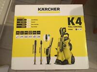 Karcher k4 pressure washer jet wash