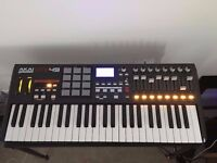 Akai MPK49 - MINT CONDITION - with metal stand