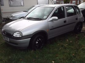THE VERY BEST LITTLE CORSA AROUND, LAST LADY OWNER 11 YEARS, 2 LADY OWNERS, ONLY 76K MILES,