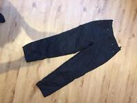 Ladies motorcycle trousers, size 10