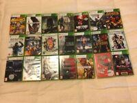 large bundle of xbox 360 games (37)