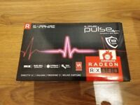 RX580 8GB GRAPHICS CARD (FOR SALE) (AS NEW)