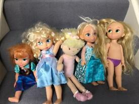 Dolls including Frozen characters