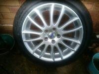 Alloy wheel from Volvo V50