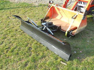 Compact Tractor Snow Plow Fits Kubota John Deere And