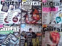 Various Total Guitar Magazines 2012