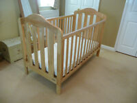 Mamas and Papas Lucia Cot Bed plus mattress