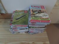 N Gauge Magazines ranging from 1997 to 2016