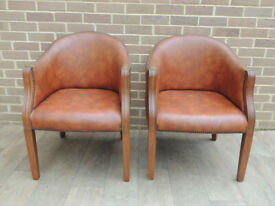 Pair of Captains Chairs (UK Delivery)
