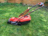 Flymo electric lawn mower