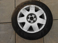 185/60 R14 Tyre and wheel 8mm