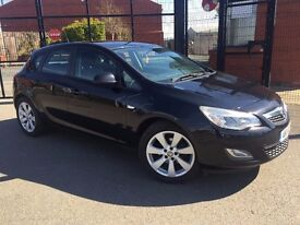 JUNE 2011 VAUXHALL ASTRA 1.7 CDTI EXCLUSIVE MOT TO AUGUST FINANCE AVAILABLE MAY PART EXCHANGE