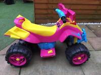 Children's Electric Quad - Pink