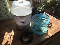 Avent bottle steam steriliser