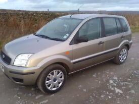 Ford Fusion 1.4 16v manual petrol 2003 low mileage