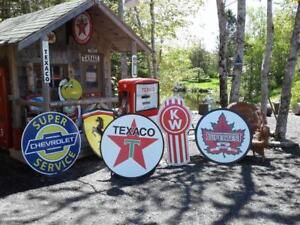 OLD SKOOL GASOLINE SIGNS