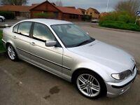 BMW 330D SE AUTO LEATHER ALLOYS FSH MOT AUTOMATIC 530 730 M E46