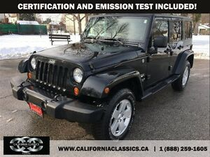 2011 Jeep WRANGLER UNLIMITED SAHARA UNLIMITED LEATHER - 4X4