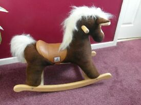 MAMAS AND PAPAS CHILD ROCKING HORSE. EXCELLENT CONDITION. BARGAIN