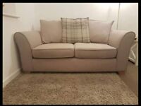 2 seater - dfs - 2 years old- perf condition