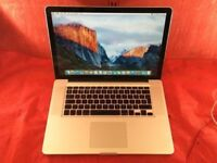 Macbook pro 15inch A1286 2.4Ghz Intel core 2 duo 4GB Ram 500GB 2008+WARRANTY, NO OFFERS