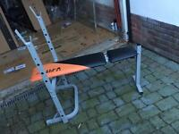 V-Fit gym bench